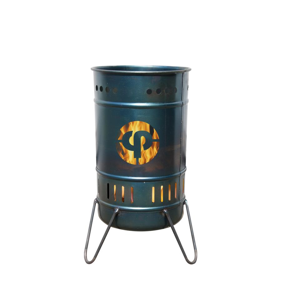 Stahlbude Feuerkorb 20 Liter mit Wunschmotiv