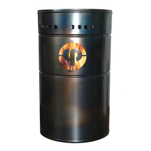 Stahlbude Feuerfass 165 Liter