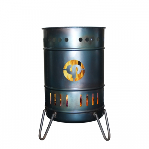 Stahlbude Feuerkorb 30 Liter Stahl