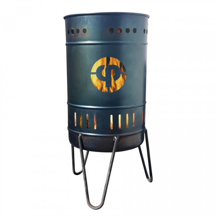 Stahlbude Feuerkorb 50 Liter Stahl