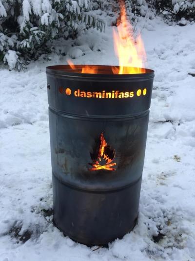Stahlbude Minifass 80 Liter Füllvolumen