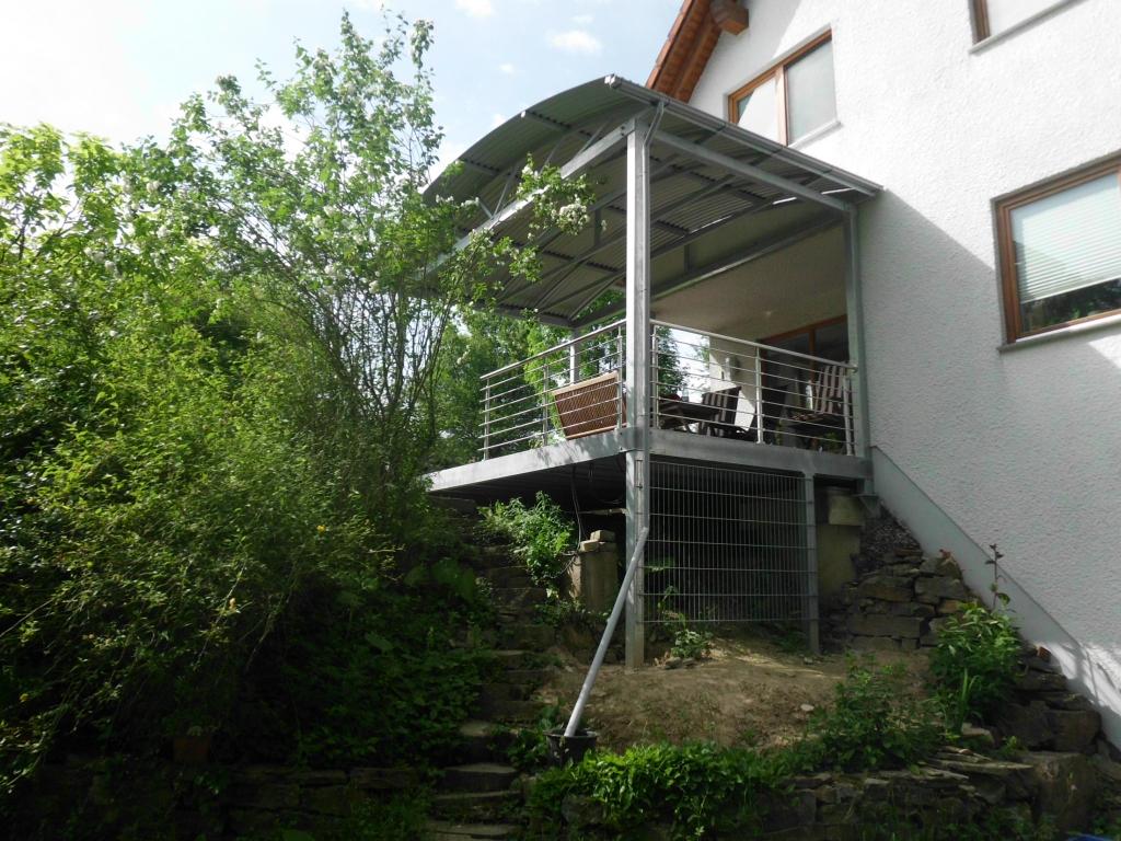 Stahlbude Balkon Bauschlosserei