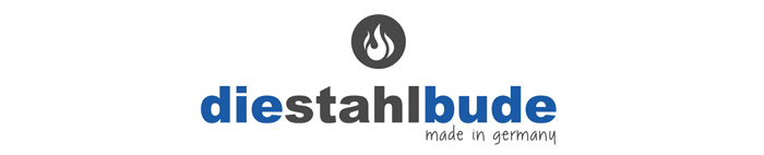 Die Stahlbude – Feuerkörbe und Feuerfässer Logo